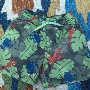 Gymboree swim trunks. 2T.